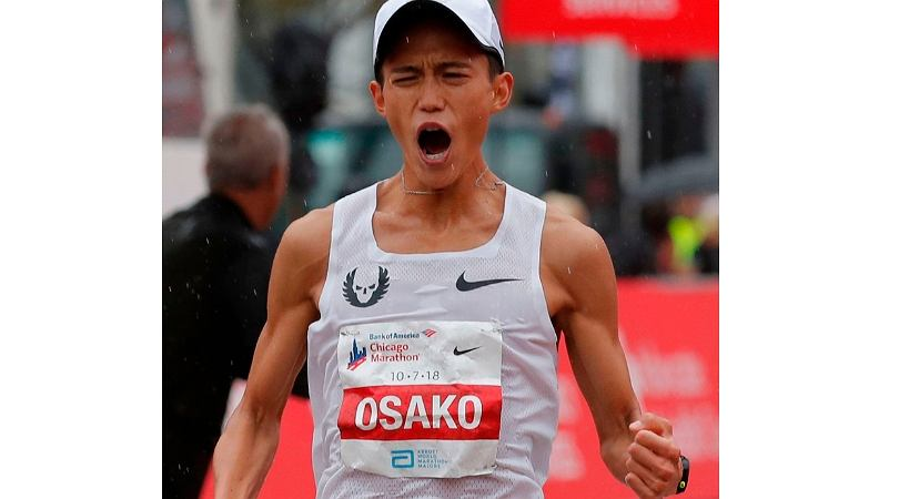 Rekord Japonii w maratonie. Suguru Osako