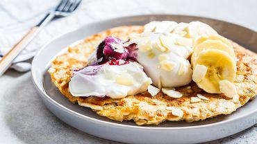 Omlet biszkoptowy na słodko