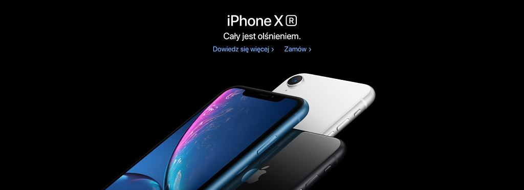 iPhone XR trafił do przedsprzedaży w Polsce
