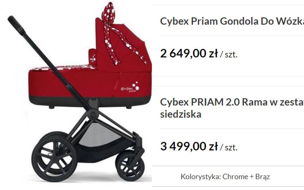 wózek Cybex, Klaudia Halejcio