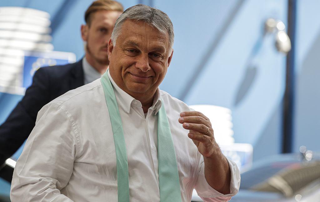 Premier Węgier Viktor Orban, 20 lipca 2020 r.