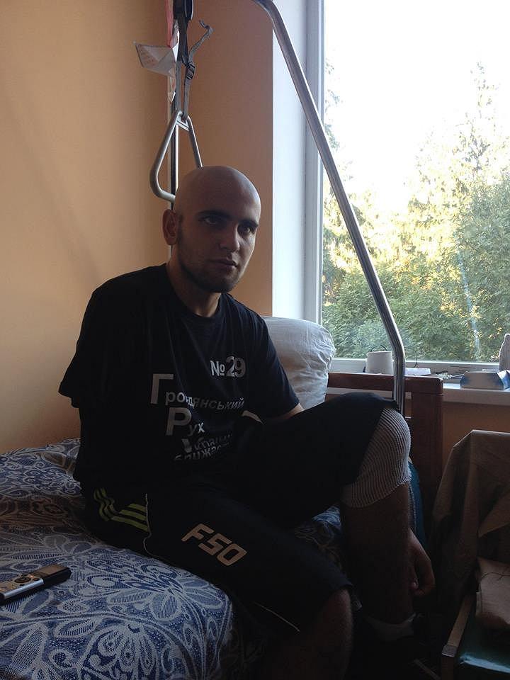 Rebelianci Odrąbali Wasylowi Ramię Za Tatuaż Z Herbem Ukrainy