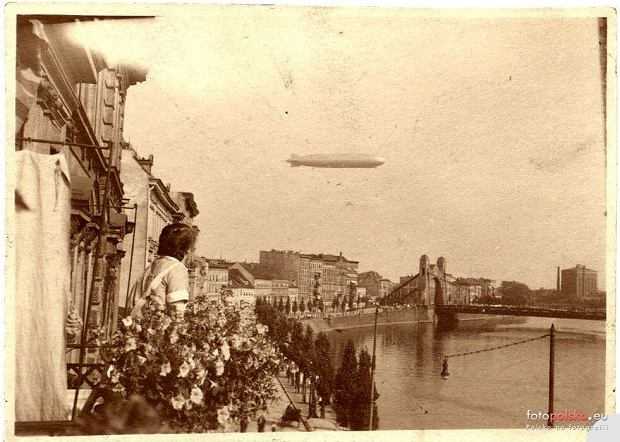 Zdjęcie numer 2 w galerii - Sterowce nad przedwojennym Wrocławiem. Te archiwalne zdjęcia robią wrażenie [GALERIA]