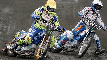 Krzysztof Kasprzak i Nicki Pedersen