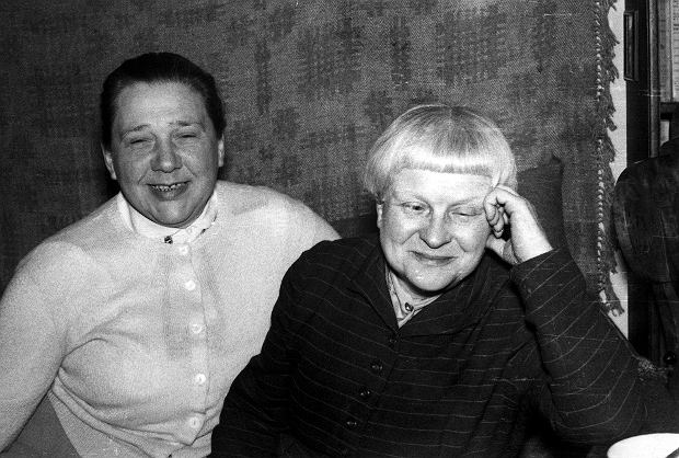 Kowalska z Dąbrowską zamieszkały razem w roku 1954, więc przez 14 lat głównie do siebie pisały (fot. Cezary Gawryś / Fotonova)