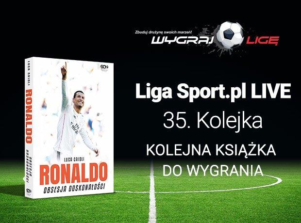 Nagroda w 35. kolejce Wygraj Ligę, książka