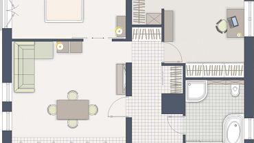 Funkcjonalne mieszkanie z wypoczynkiem w centrum