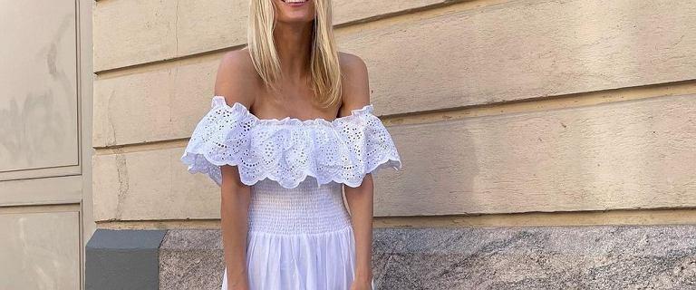 Piękne sukienki za mniej niż 40 złotych! Model na ramiączkach jest idealny na ciepłe dni