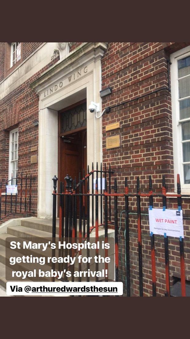 Szpital, w którym ma rodzić księżna Kate