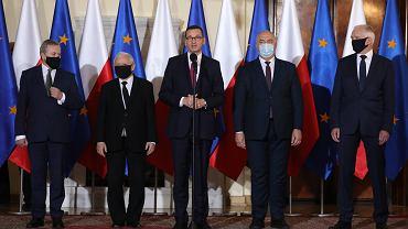 Nowy skład rządu. Konferencja prasowa premiera Morawieckiego