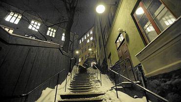 Styczniowy Sztokholm nocą