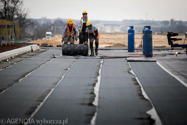 Budowa S17 na odcinku Skrudki - Kurów