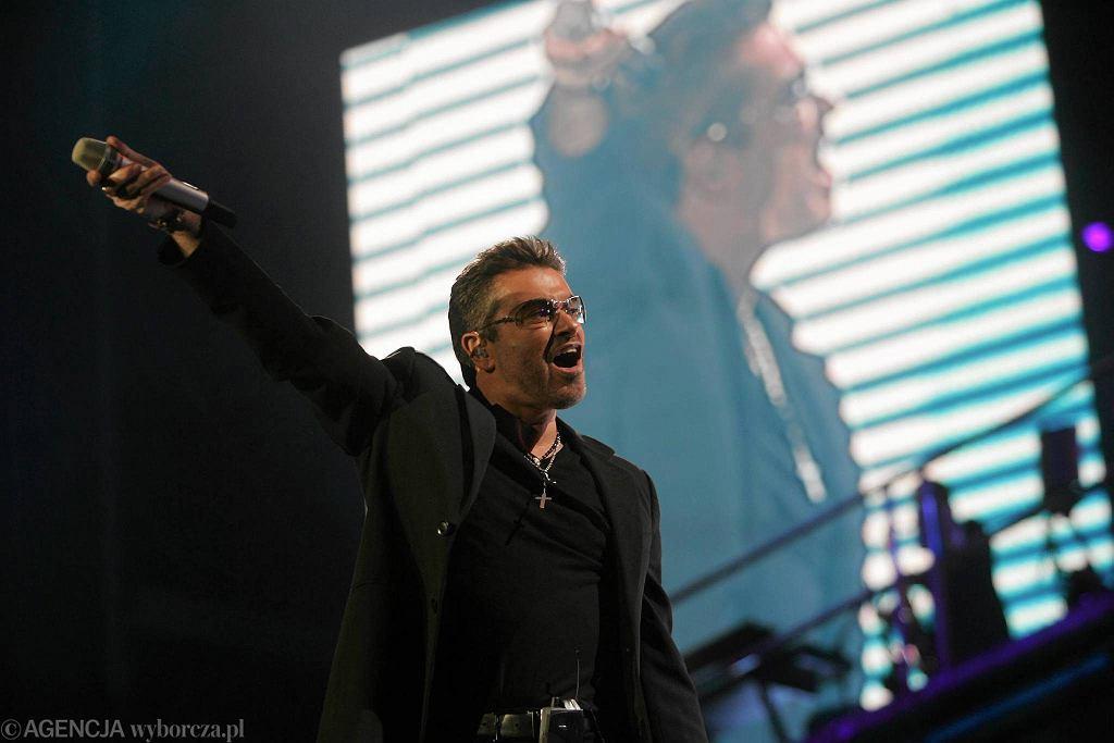 George Michael po raz pierwszy w Polsce wystąpił 11.07.2007 roku na Służewcu / BARTOSZ BOBKOWSKI
