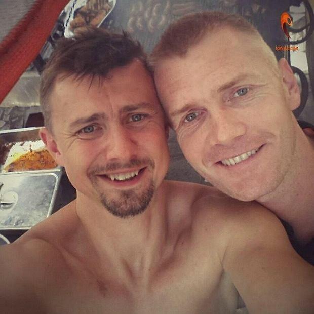 Krzysztof Ignaczak i Paweł Zagumny