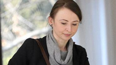 Agnieszka Dziemianowicz-Bąk z  zarządu krajowego partii Razem