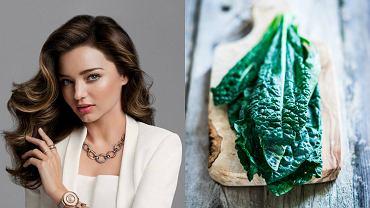 Dietę oczyszczającą poleca między innymi modelka Miranda Kerr