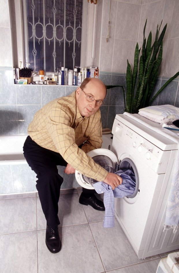 2002 N/z Jan Maria Rokita w swoim domu w Warszawie  fot. Michal Hetmanek/REPORTER