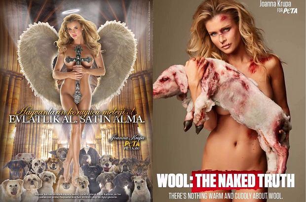 Joanna Krupa dla PETA