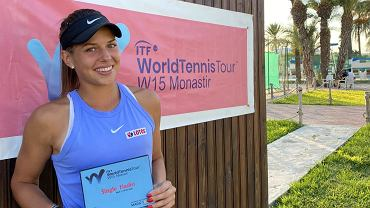 tenis w Radomiu, Weronika Falkowska