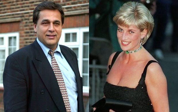 Księżna Diana, Hasnat Khan.