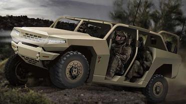 Projekt samochodu Kia dla koreańskiej armii