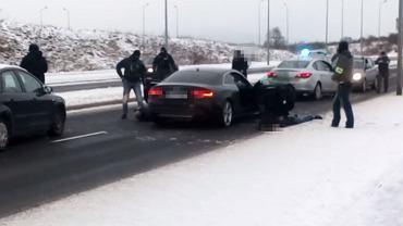 Zatrzymanie sprawcy wypadku w Bielawie