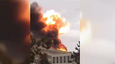 Lyon. Ogromny wybuch w bibliotece uniwersyteckiej. To prawdopodobnie wyciek gazu
