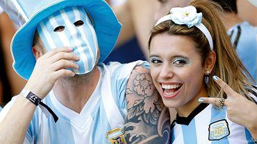 Kibice Argentyny na MŚ 2014