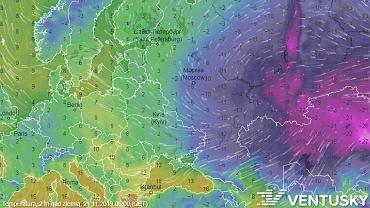 Idzie ochłodzenie. To nie wir polarny, a zimne powietrze znad Rosji