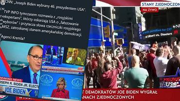 TVP i TVP Info relacjonują wybory w USA