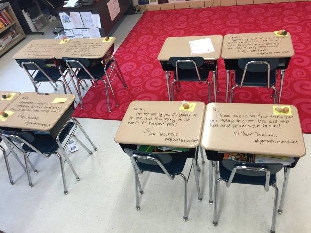Taki niecodzienny widok przywitał uczniów przed klasówką