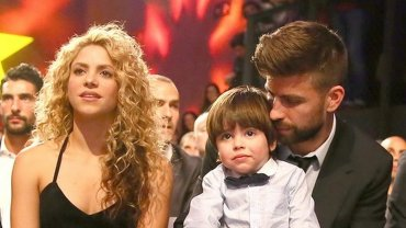 Shakira, Gerard Pique i Milan Pique