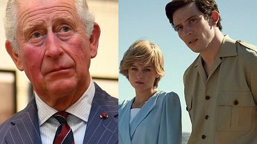 książę Karol, księżna Diana, 'The Crown'