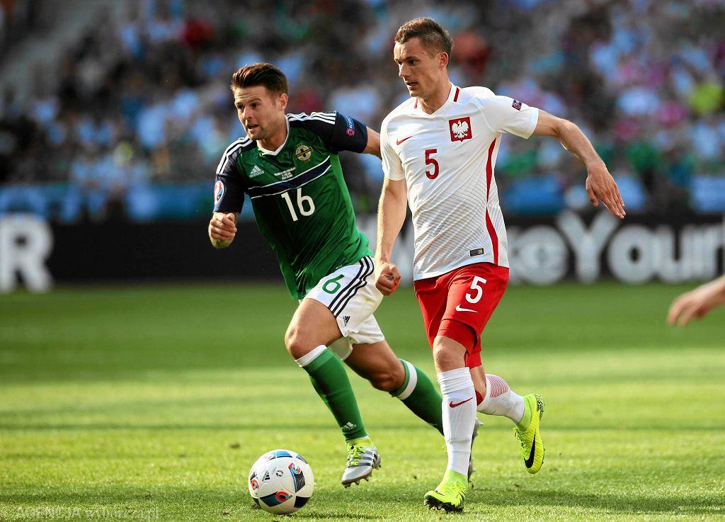 Polska - Irlandia Północna 1:0. Krzysztof Mączyński