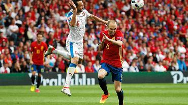 Hiszpania- Czechy w fazie grupowej EURO 2016