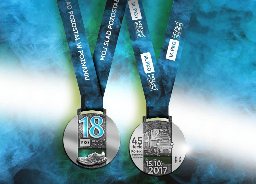 medal Poznań Maraton