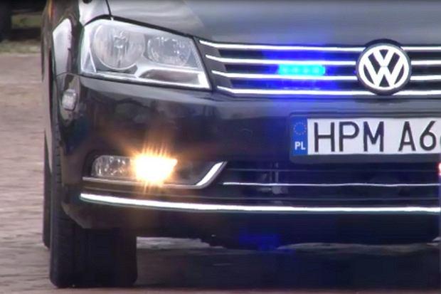 Nieoznakowany Volkswagen Passat