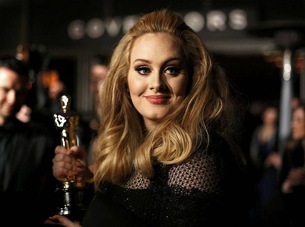 Piosenkarka Adele z Oscarem za najlepsza piosenkę do filmu, którego otrzymała za utwór