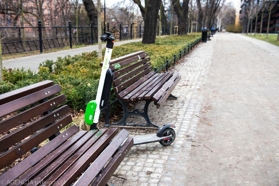 Elektryczne hulajnogi we Wrocławiu