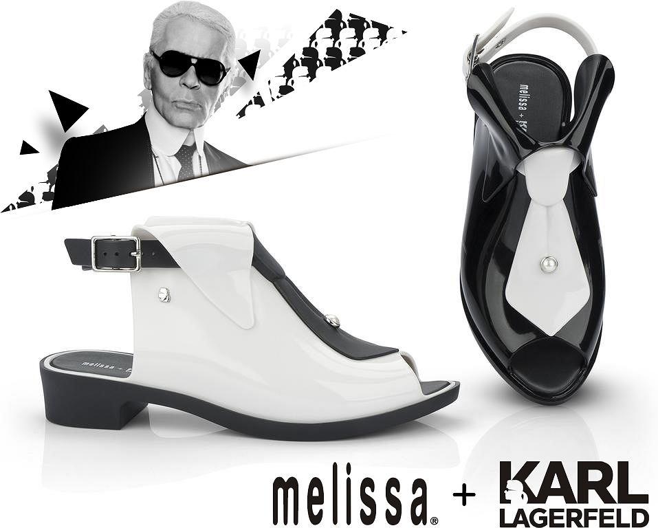 Kolekcja Karl Lagerfeld i Melissa