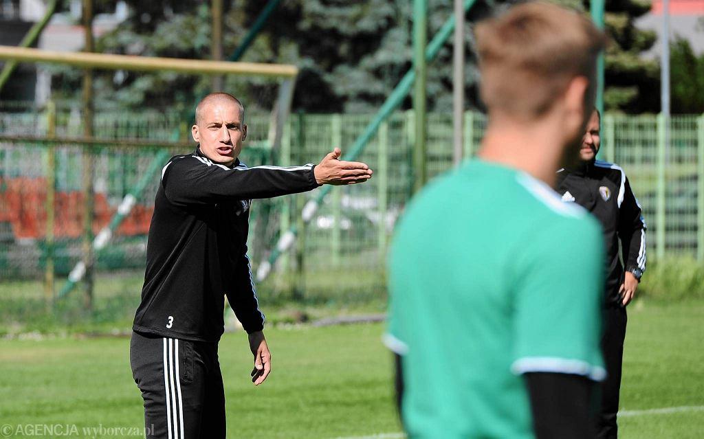 Piotr Celeban - obrońca i kapitan Śląska