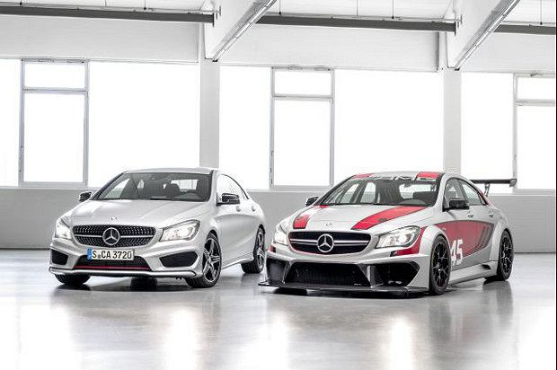 Mercedes CLA 250 Sport i CLA 45 AMG Racing Series
