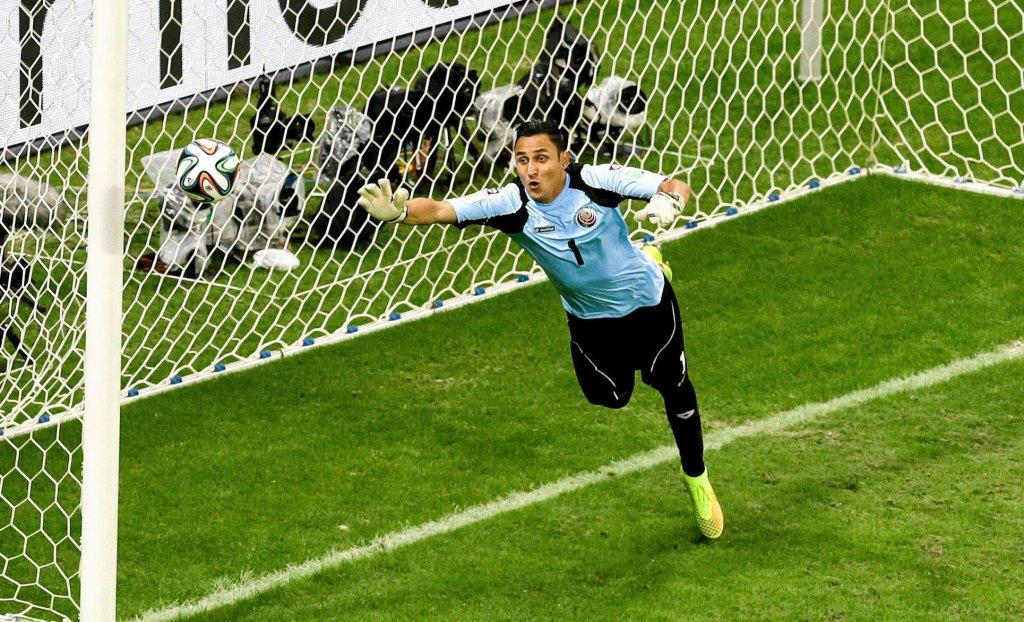 Keylor Navas w bramce reprezentacji Kostaryki