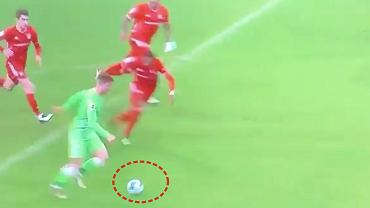 Bartosz Białek miał szansę na gola w meczu z Bayernem