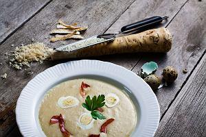 Zupa chrzanowa na Wielkanoc i nie tylko
