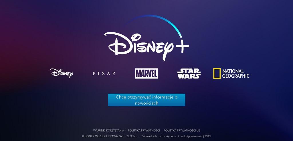 Disney+ w polskiej wersji językowej