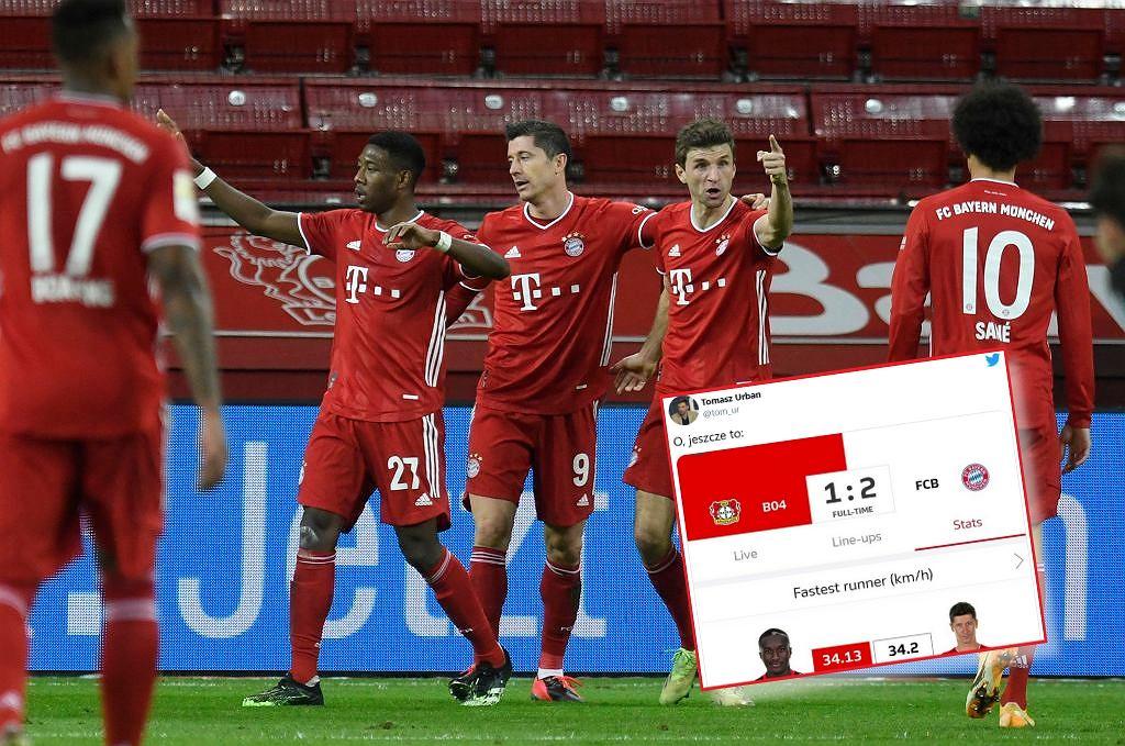 Robert Lewandowski najszybszym piłkarzem Bayernu