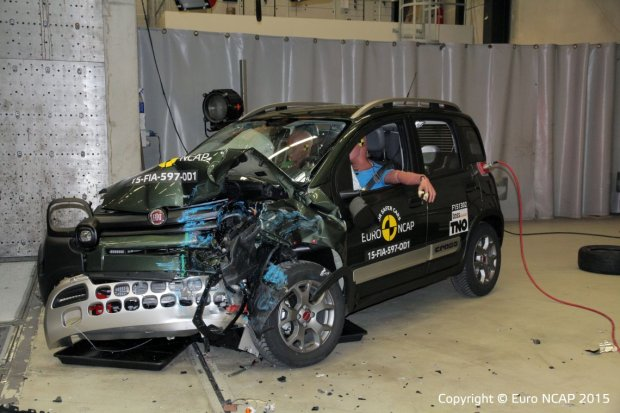 Fiat Panda Cross Testy Euro NCAP