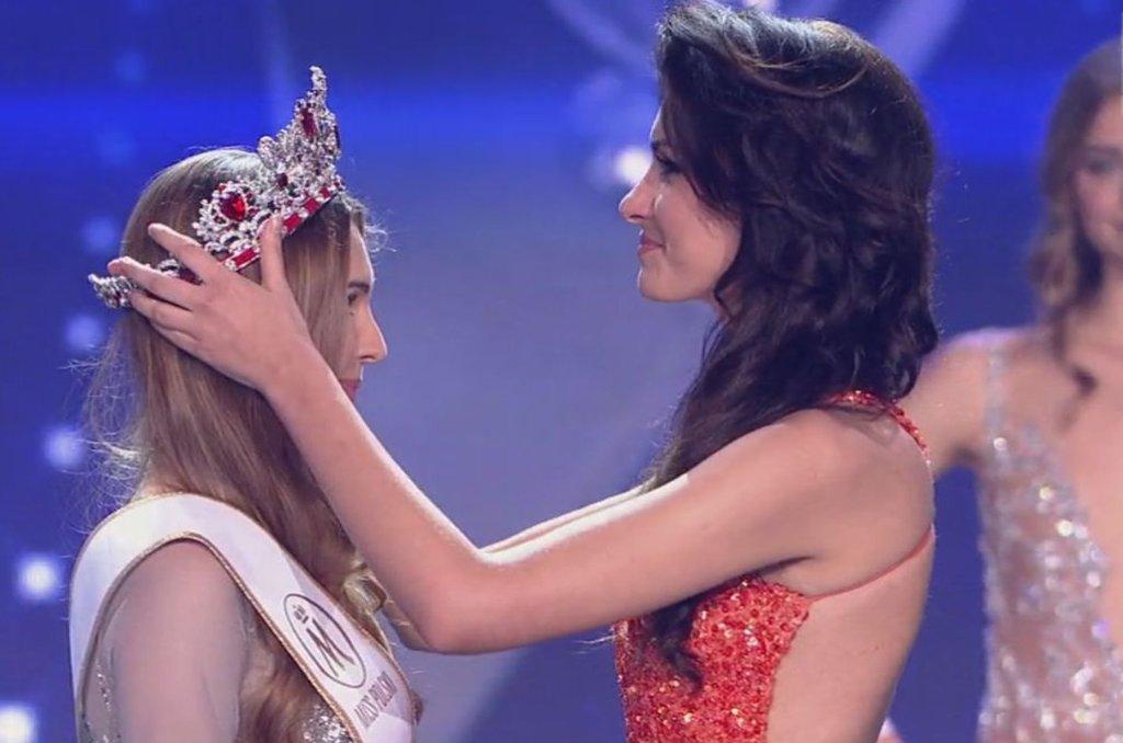 Miss Polski 2015 Magdalena Bieńkowska i Ewa Mielnicka Miss Polski 2014ac