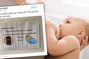 W szpitalu zawisł dyskusyjny plakat o karmieniu noworodków. Mamy poczuły się dotknięte: To okropne. Ekspert wyjaśnia